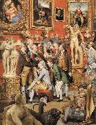 ZOFFANY  Johann The Tribuna of the Uffizi (detail) oil painting picture wholesale